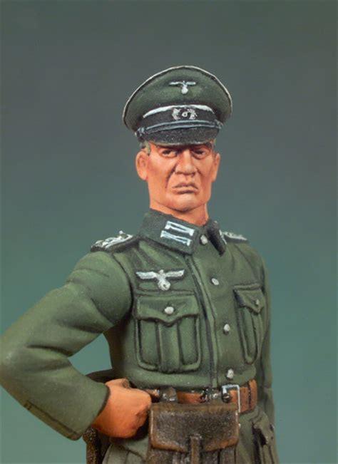 German Officer by Standing German Officer S5 F03 54 Mm 1 32 World War Ii
