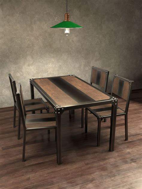 muebles comedor industrial en  pinterest comedor