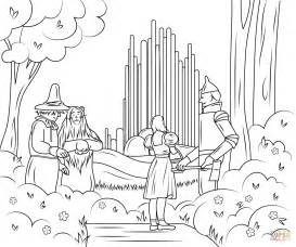 wizard of oz coloring pages wizard of oz emerald city coloring page free printable