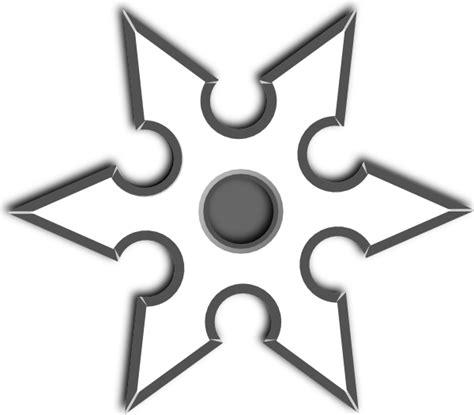 ninja shirken star clip art at clker com vector clip art