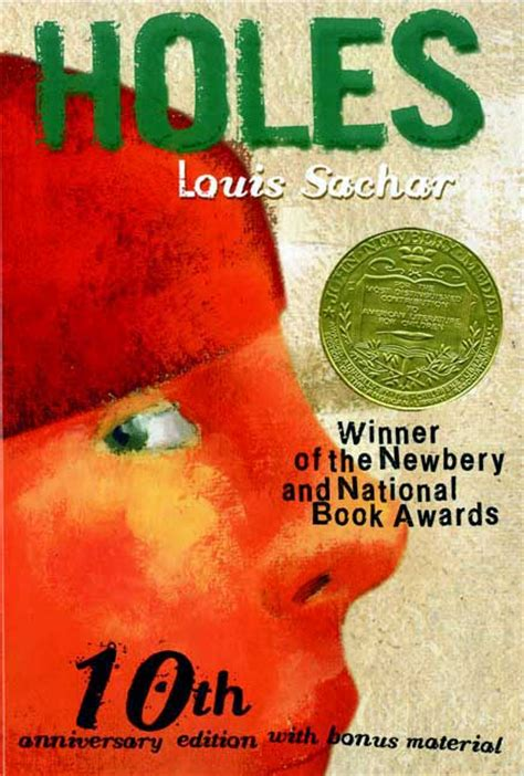 holes book pictures top 100 children s novels 6 holes by louis sachar