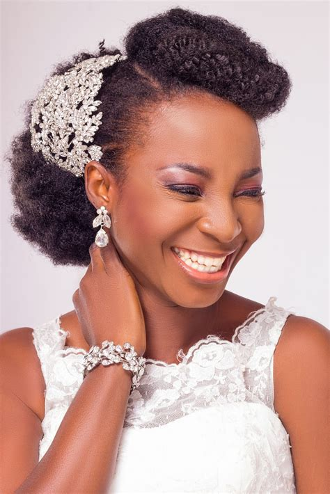 wedding hair styles in nigeria natural hair bridal inspiration shoot by yes i do bridal