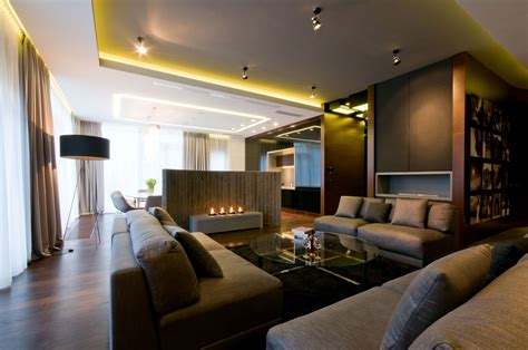 Apartment Near A Park By Hola Design 5 Homedsgn Modern Apartment Interior Design