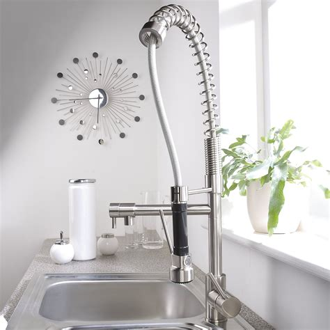 kitchen faucet trends contemporary pull spray kitchen sink faucet brushed
