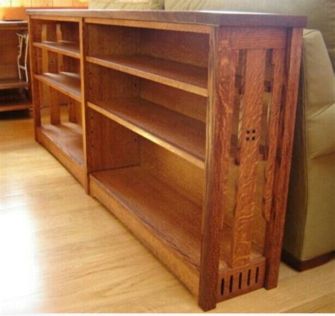 mission style bookshelves mission style bookcase woodworking