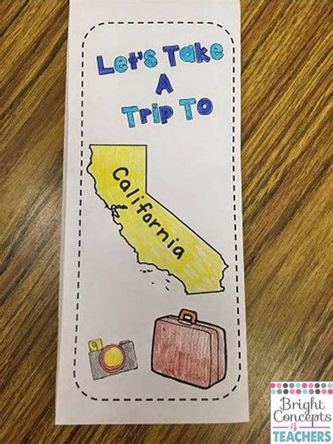 state brochure template bright concepts 4 teachers lesson plans and teaching