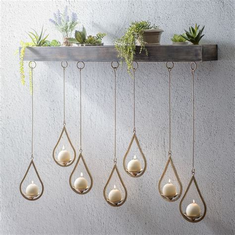 Hanging Candle Holders by Best 25 Hanging Candle Chandelier Ideas On