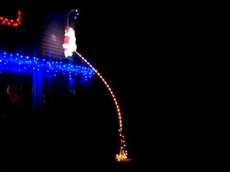 my christmas lights santa claus taking a break youtube