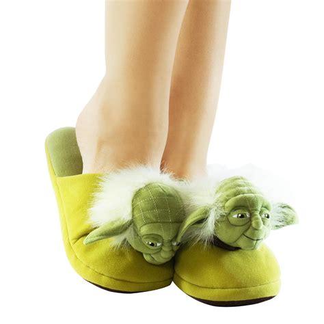 yoda slippers yoda plush slippers getdigital