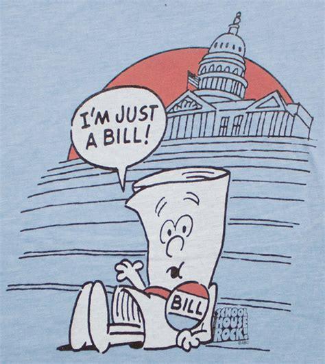 school house rock bill schoolhouse rock just a bill blue juniors graphic tshirt
