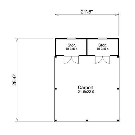 carport floor plans bangert park 2 car carport plans