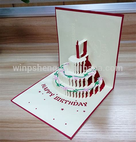 pop out birthday cards template handmade 3d geburtstagskarte kostenlos animierte