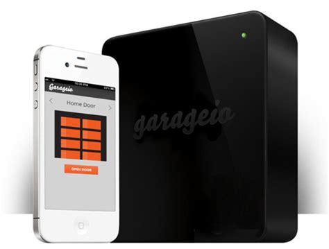 garageio smartens up your garage door with diy home