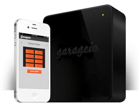 garageio smartens up your garage door with diy home