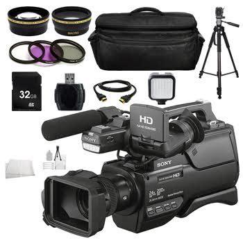 Sony Handycam Hxr Mc2500 Sony Camcorder Hxr Mc2500 sony hxr mc2500 shoulder mount avchd camcorder complete accessory bundle fumfie