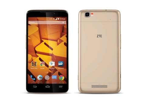 zte mobile phone zte launches boost max with boost mobile