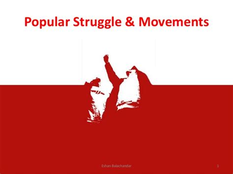 popular on popular struggles and movements