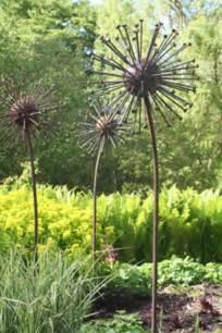 Large Metal Garden Flowers Seed
