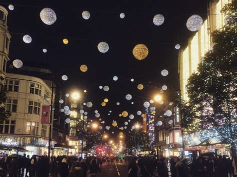 Oxford Street Christmas Lights Things To Do In London When Do Oxford Lights Go On