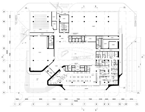office block floor plans zaha hadid completes moscow office block with jutting
