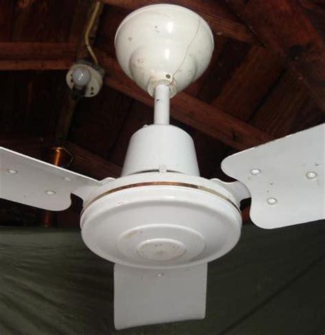 used ceiling fans s m c metal blade ceiling fan model m36