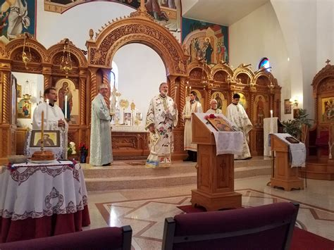 St Angelie celebration of at monastery in ohio serbian orthodox church official web site