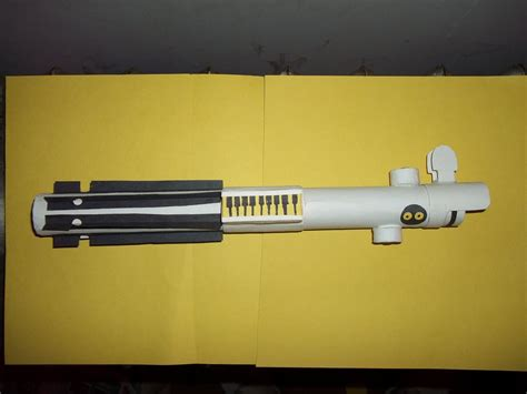 Lightsaber Papercraft - lightsaber papercraft pictures to pin on pinsdaddy