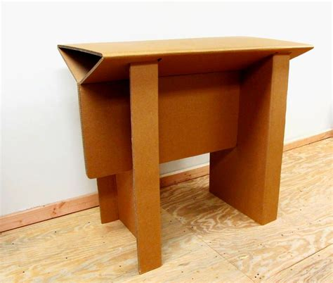 Cardboard Desk by Chairigami Intros A Range Of Furniture Items Specially