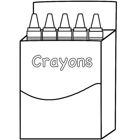 Crayon Coloring Pages Crayon Coloring Pages Printable