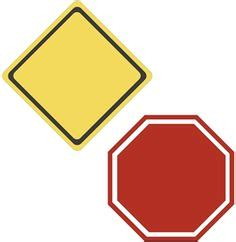 Editable Road Sign Templates Sb8448 Sparklebox Transportation Teaching Unit Unsorted Editable Road Sign Template