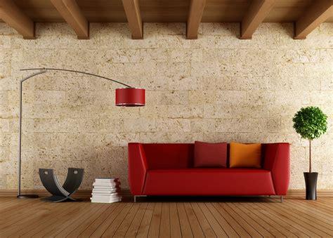 Mediterranean Style Bedroom Furniture - brick walls interior design
