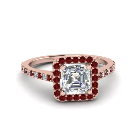 princess cut square halo delicate engagement ring