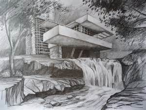 fallingwater by bastkk on deviantart