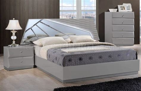 barcelona bedroom set barcelona bedroom set in grey by global