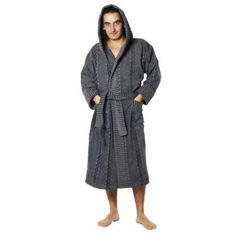 peignoir de chambre homme robe de chambre polaire homme avec capuche