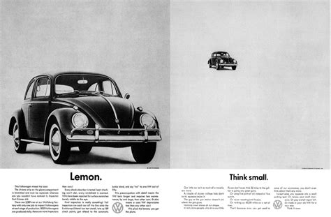 volkswagen think small ad analysis volkswagen think small major essay 2
