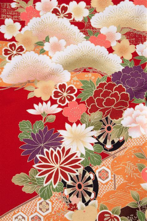 japanese pattern meaning love the colors fabric pinterest japanese kimono