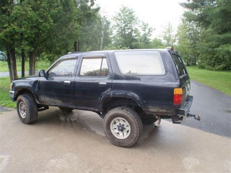 toyota parts new york purchase used lots of 89 toyoto 4runner parts in mooers