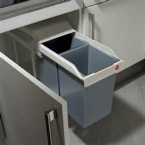 poubelle encastrable avec deux seaux multi box 2x15 cr 232 me