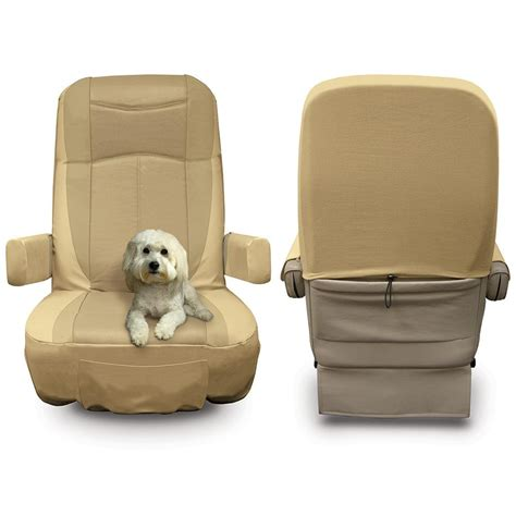 grip fit universal rv seat covers set of 2 ebay
