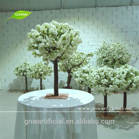 wedding tree centerpieces for sale gnw ctr003 mini artificial wedding cherry blossom table