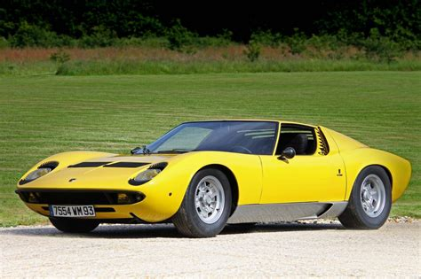 Names Of All Lamborghini Cars Lamborghini Miura Etymology What Does Its Name