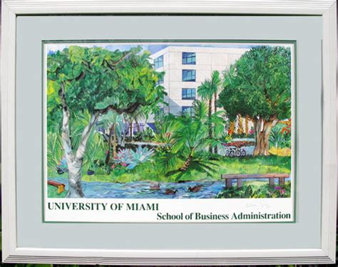Mba Salary Miami by Of Miami School Of Business Of