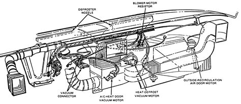 ford f350 blower motor resistor location expedition 2003 blower replacement how to autos post