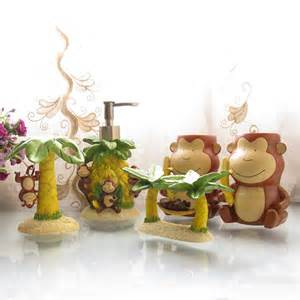 shop popular monkey bathroom accessories from china aliexpress