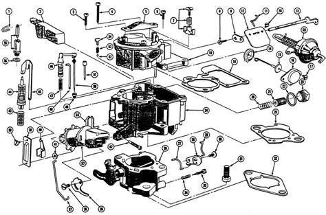 Rochester Monojet Carburetor Diagram