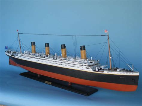 titanic ship or boat rms titanic model limited edition 50 quot assembled