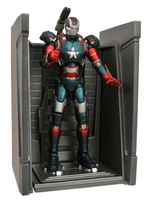 Marvel Select Iron 42 Battle Damaged dst new marvel select iron patriot and iron 42 battle damaged