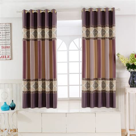 short door curtains single panel modern window curtains for kitchen living
