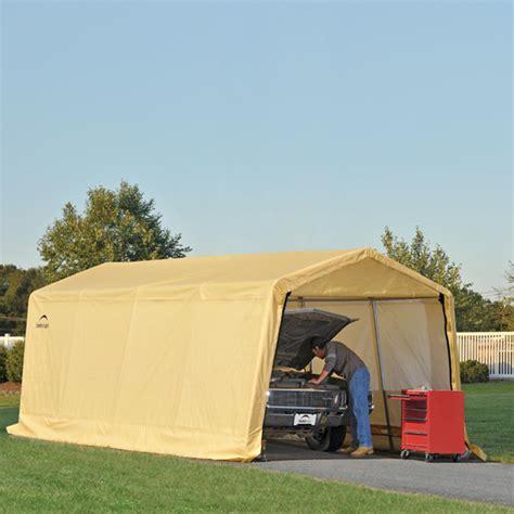 Auto Shelters Portable Garages by Shelterlogic Garage Car Newhairstylesformen2014